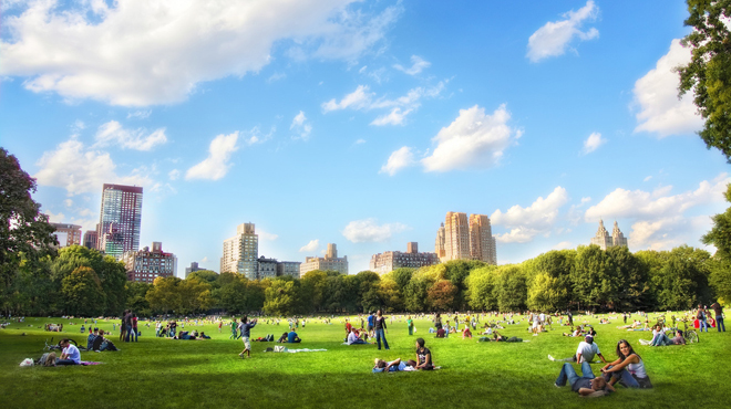 The best parks in the city