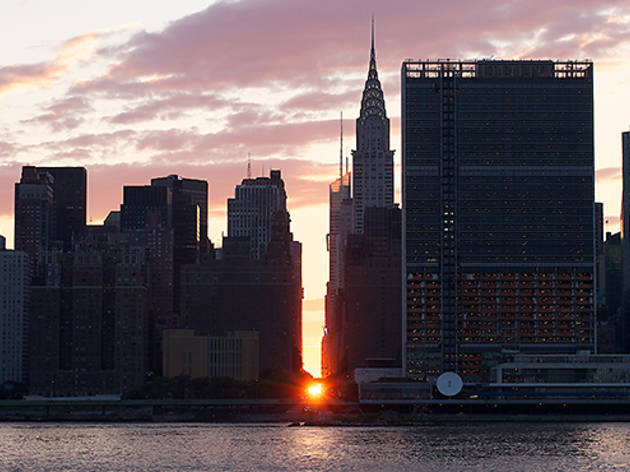 Manhattanhenge July 13
