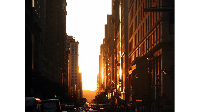 Photograph: Courtesy Creative Commons/4rilla/Flickr Manhattanhenge