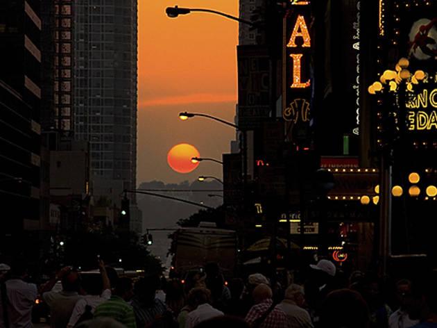 Photograph: Courtesy Creative Commons/Michael Tapp/Flickr Manhattanhenge