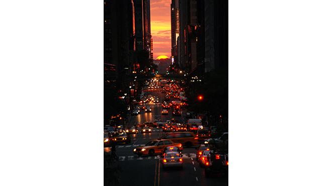 Photograph: Courtesy Creative Commons/Nate Dorr/Flickr Manhattanhenge