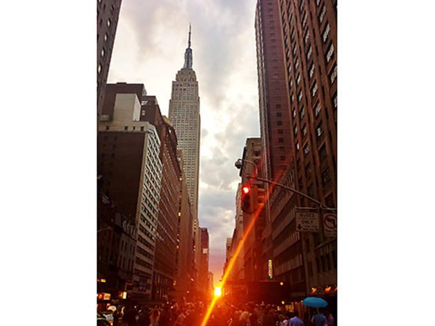 Photograph: Courtesy Creative Commons/GiGi NYC/Flickr  Manhattanhenge