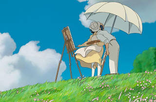 Outdoor cinema 2014: The Wind Rises