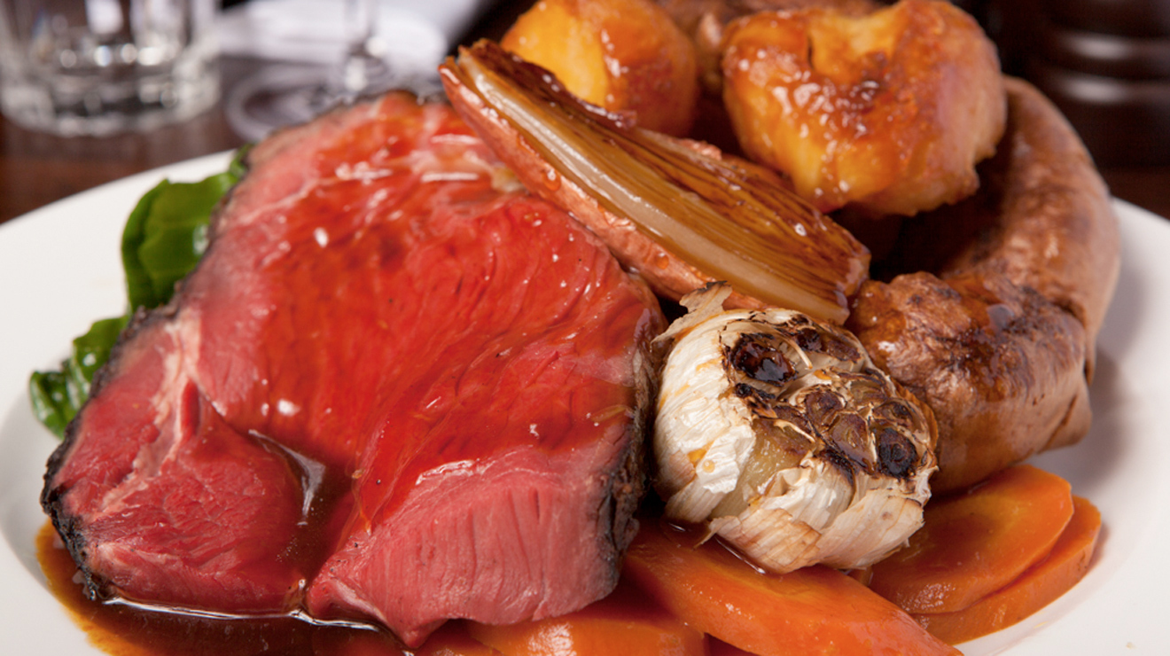Hawksmoor roast dinner, Sunday roast