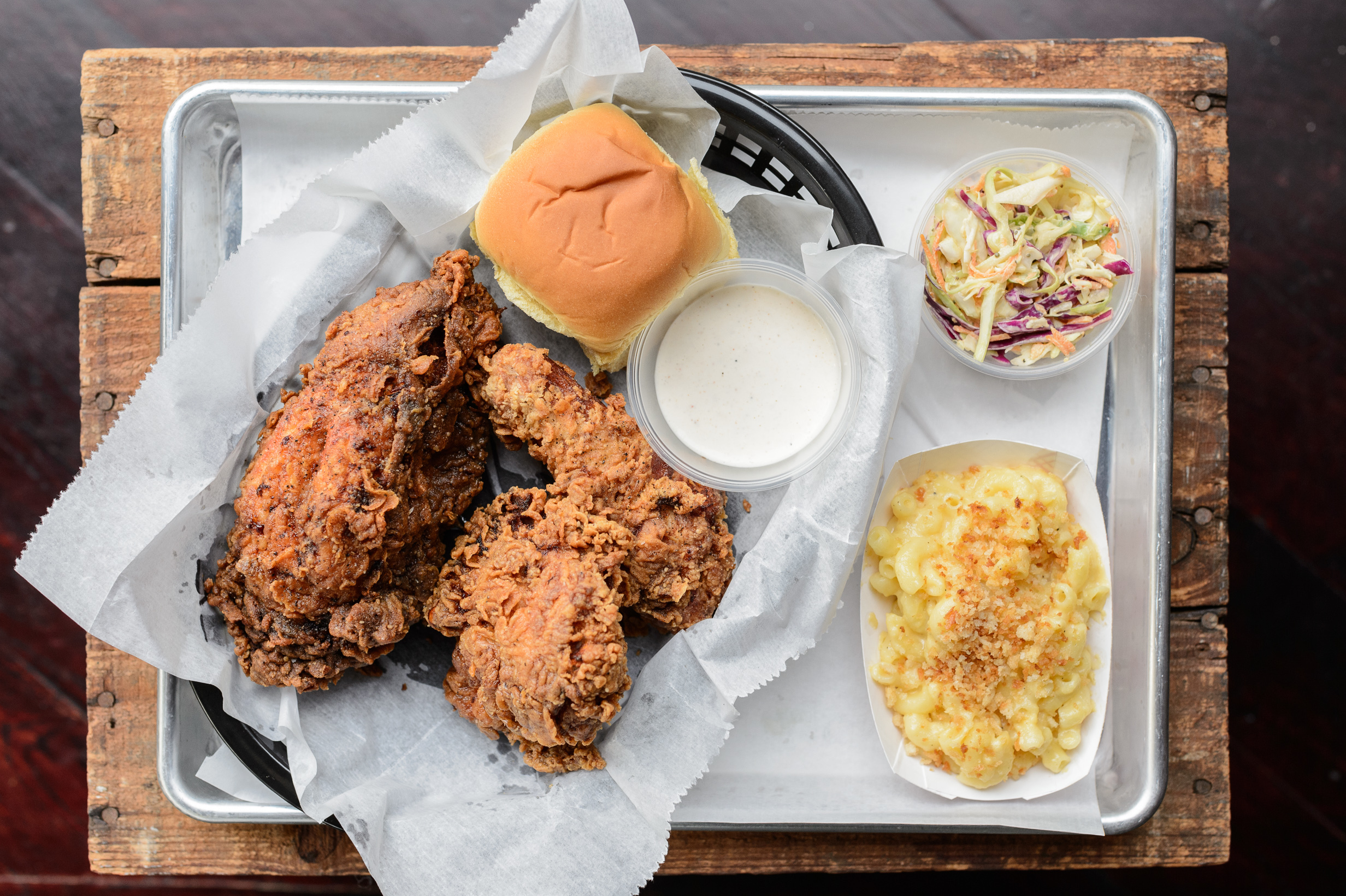 Chicken dinner at Wilma Jean