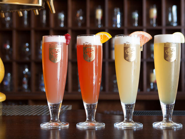 The selection of radlers at The Radler.
