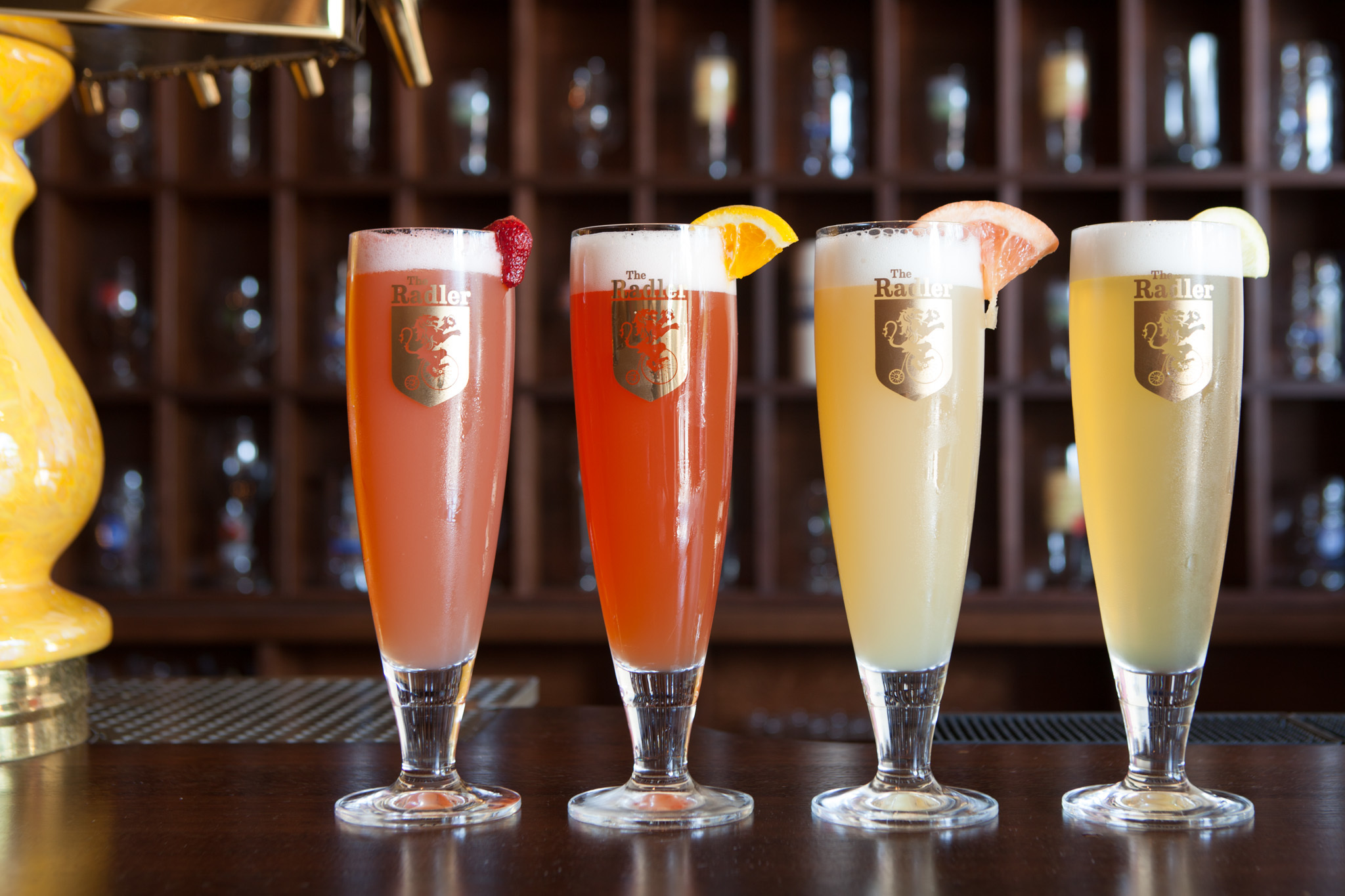 4 radler flavors from The Radler