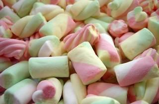 Marshmallow i pasta de fruita