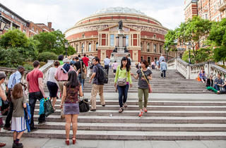 (Proms queue - © Rob Greig)