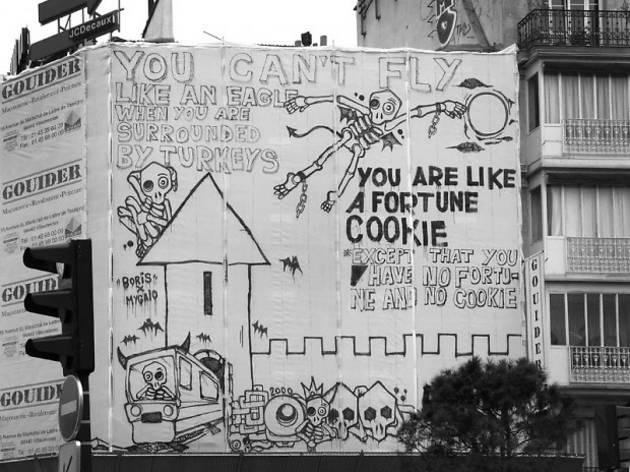 Graffiti par Mygalo 2000 (© Mygalo)