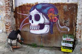 Graffiti à Mexico (© DR)