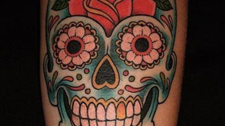 Un tatouage Calavera