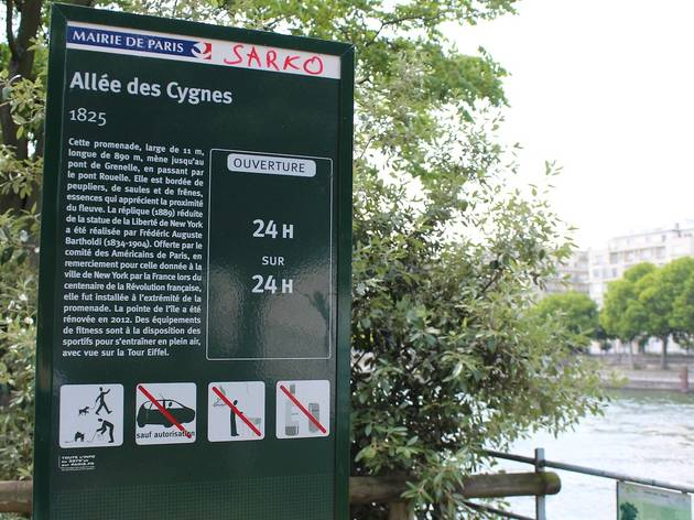 Ile aux Cygnes (© Céline Astorg)