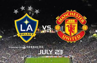 LA Galaxy vs. Manchester United
