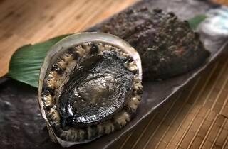Live abalone promotion at Tatsu