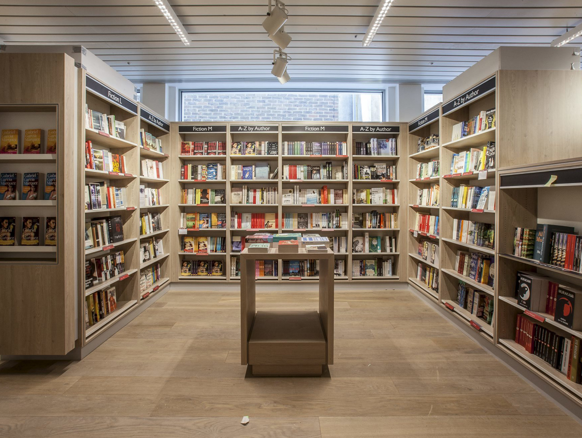 Browse more than 200,000 titles at the new Foyles flagship