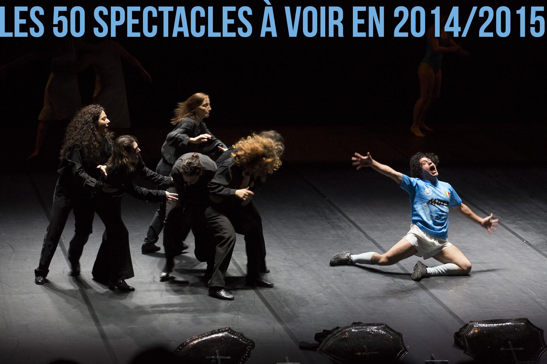 Les 50 spectacles à voir à Paris en 2014-2015
