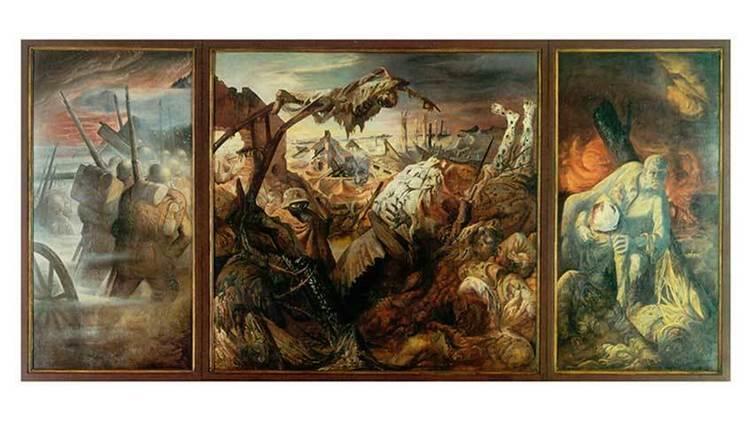 'Der Krieg', d'Otto Dix