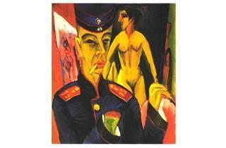 'Autorretrato', Ernst Kirchner