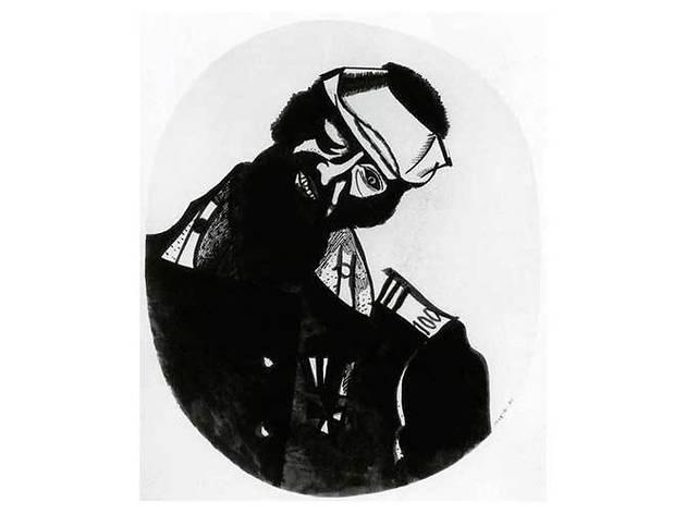 'El soldado herido', Chagall