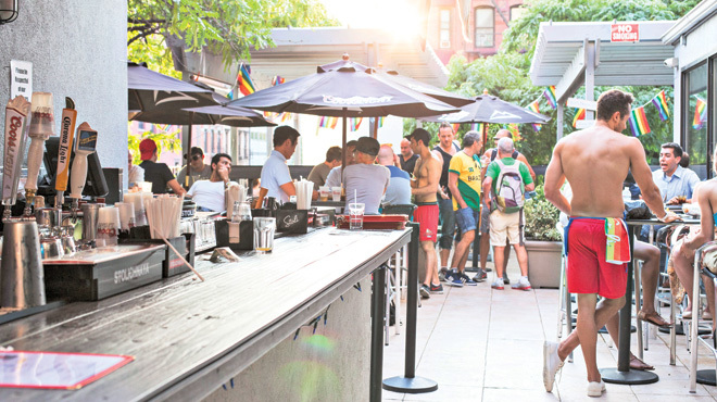 The 5 best outdoor gay bars