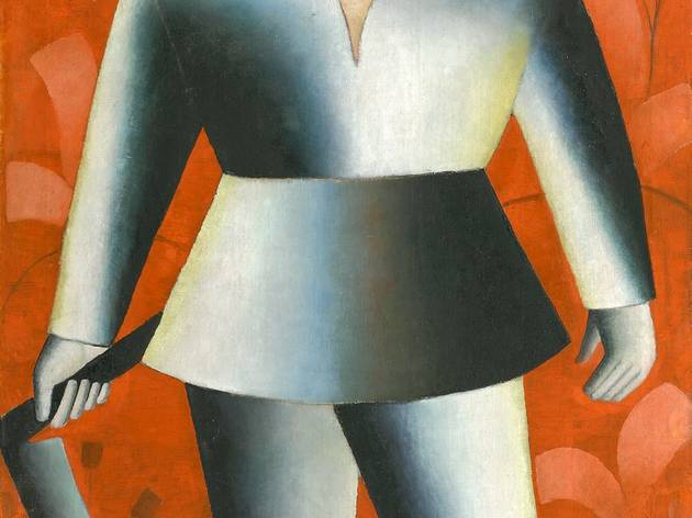 Kazimir Malevich ('The Scyther', 1912)