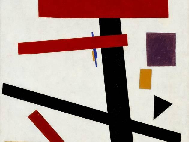 Kazimir Malevich ('Supremus No 50', 1915)