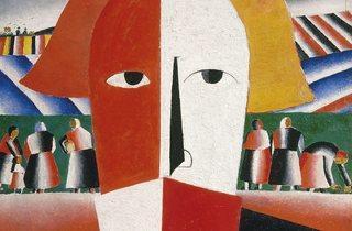 Kazimir Malevich ('Head of a Peasant', 1928-29)