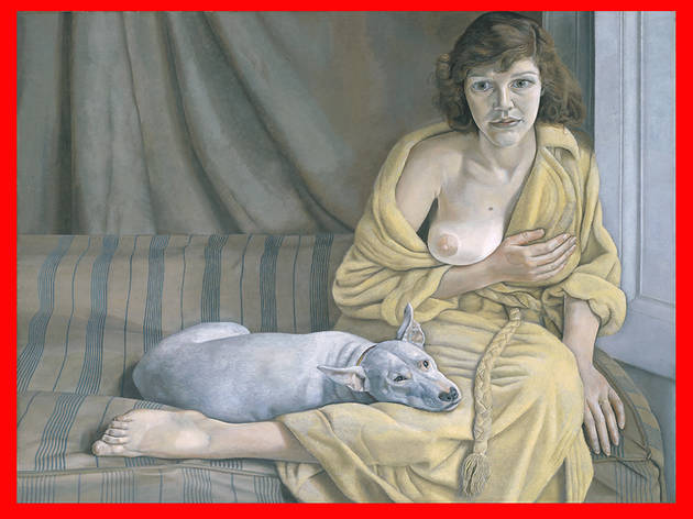 ( Lucian Freud, Girl with a White Dog 1950–1 © Tate)