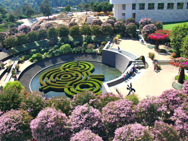 Central Garden at the Getty Center.