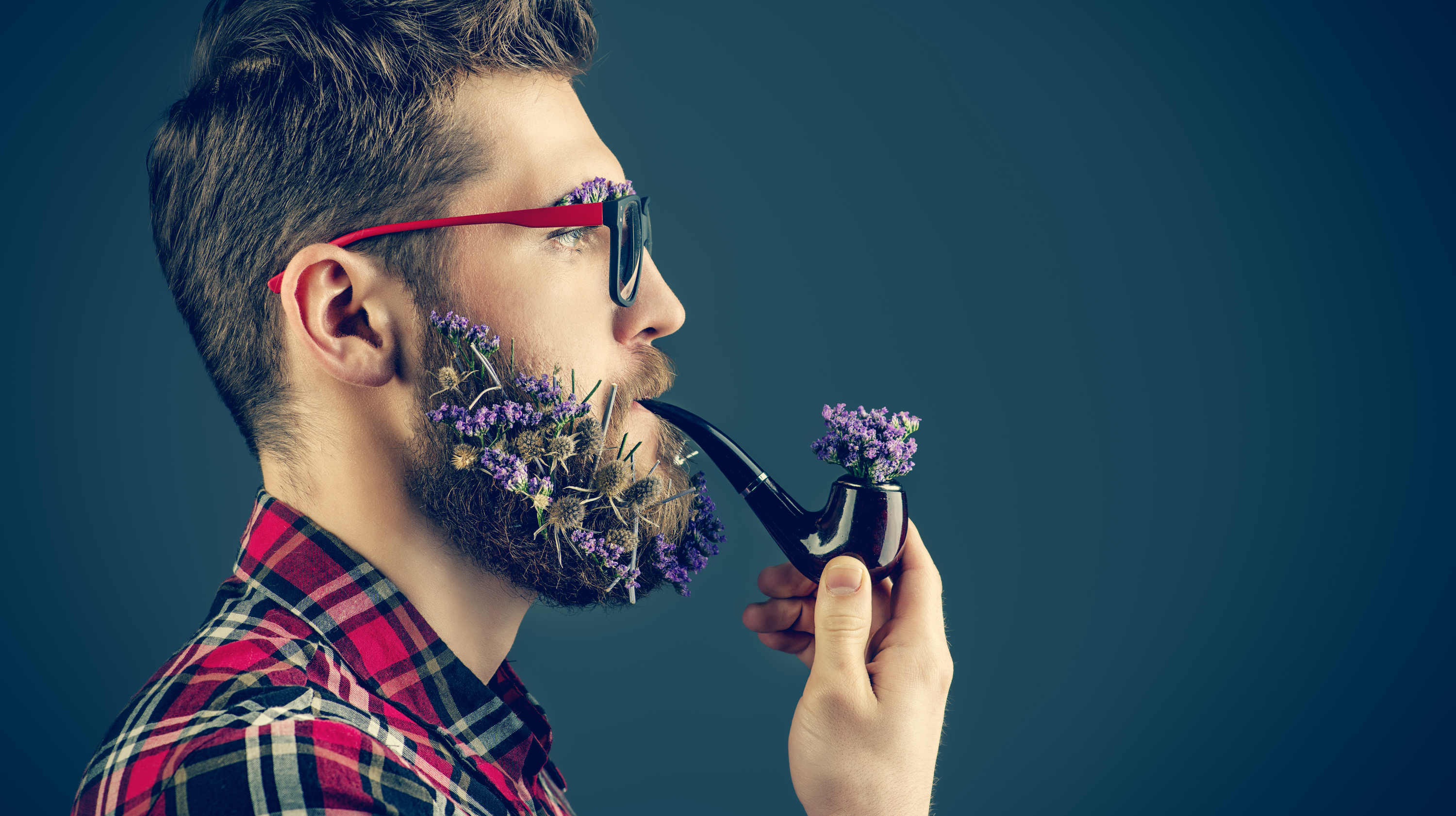 Are Flower Beards The Hottest New Thing In Nyc Men S