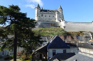 The view from the Hôtel Anne d'Anjou, Saumur