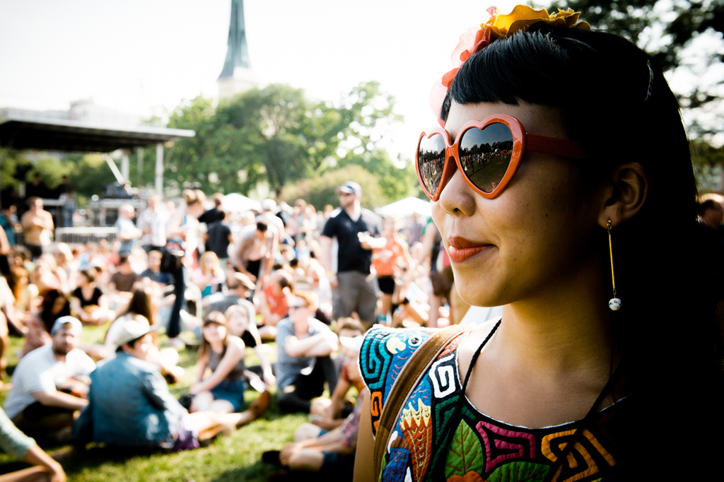 Pitchfork 2014, Friday: Faces in the crowd