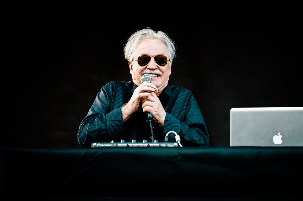 Fans chill out and check out Beck, Giorgio Moroder, Sharon Van Etten, Neneh Cherry on day one of PItchfork Music Festival 2014.