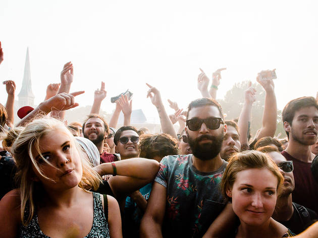 Pitchfork 2014, Saturday: Faces in the crowd