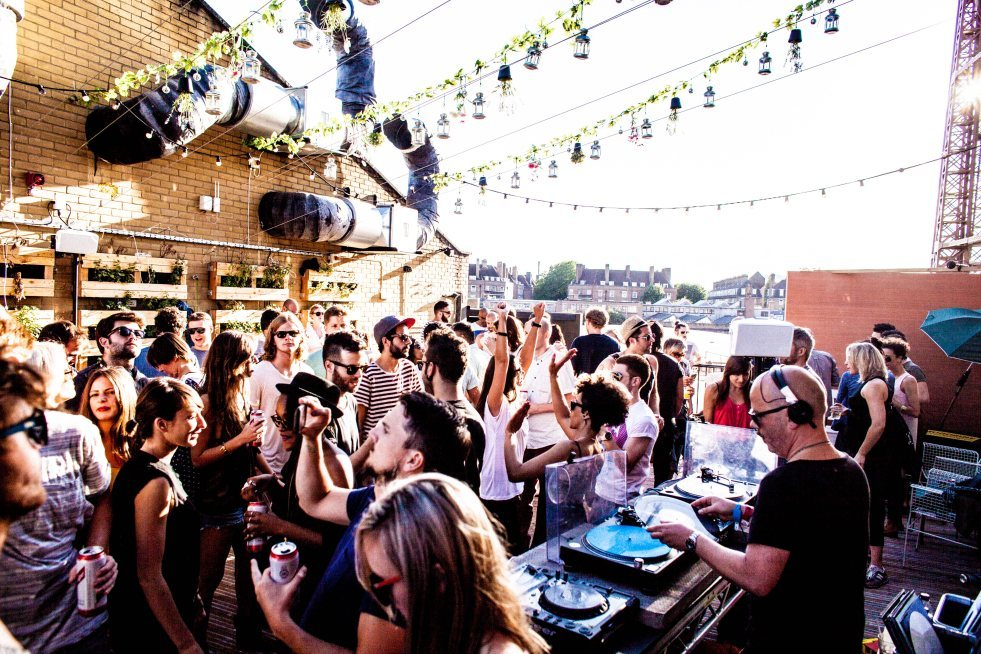 Sunday parties in London this summer