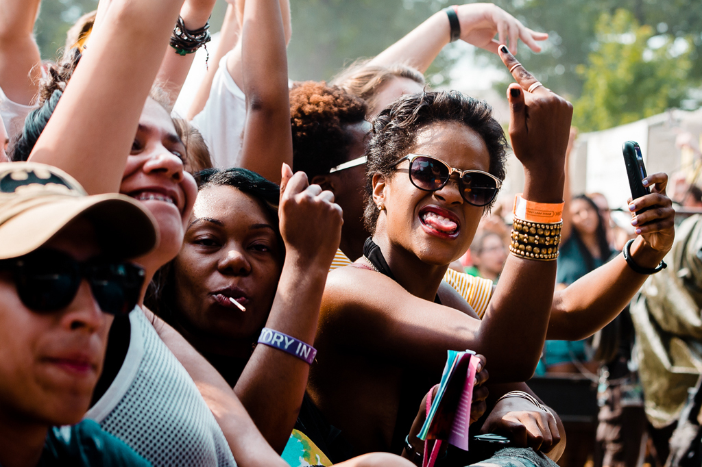 Pitchfork 2014, Sunday: Faces in the crowd