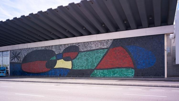 Mural de l'Aeroport