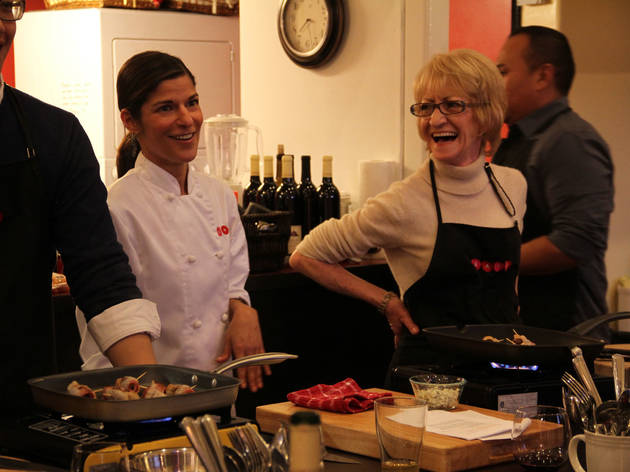 A Night with Julia Child's French Cuisine