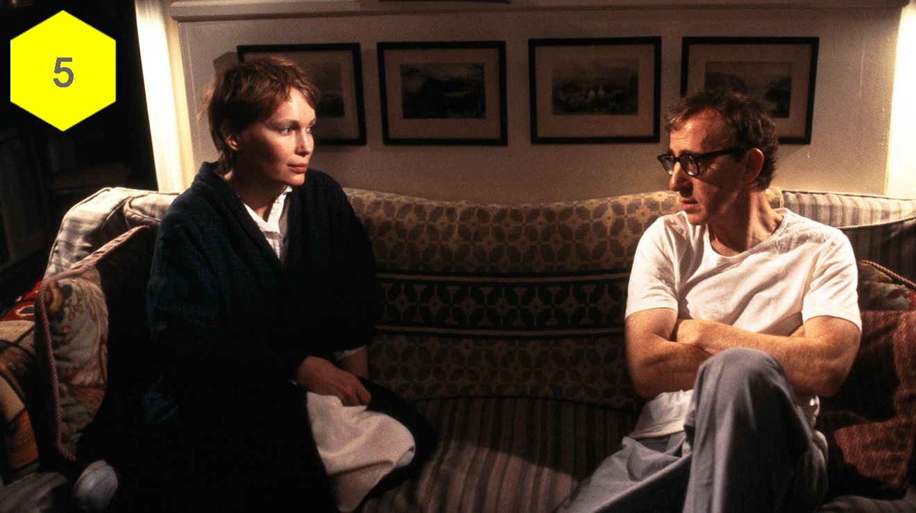 best and worst woody allen movies, husbands and wives