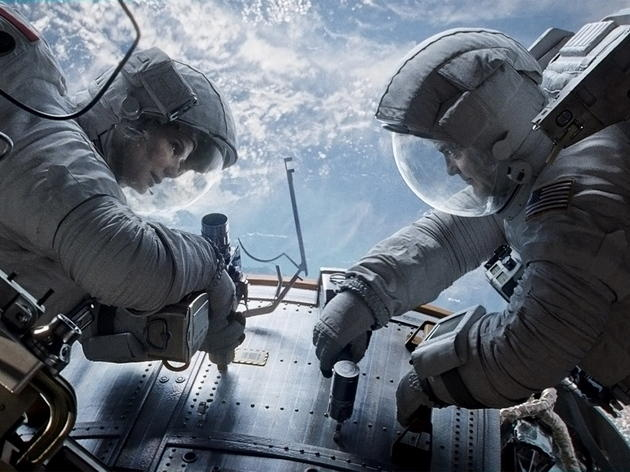 Sci-fi movie: Gravity