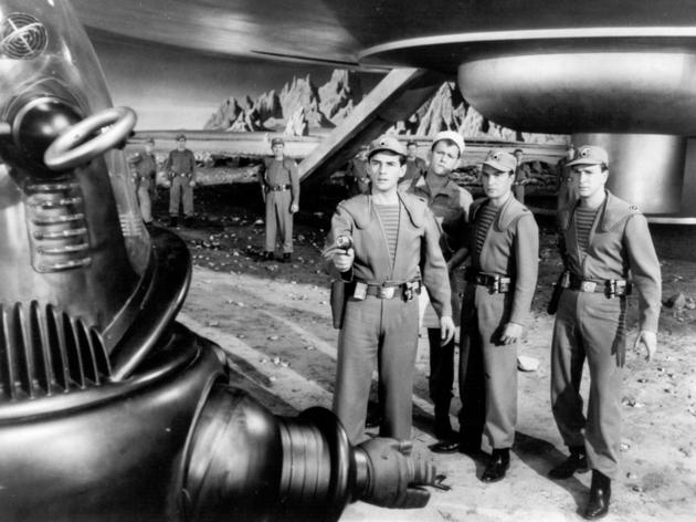 Sci-fi movie: Forbidden Planet