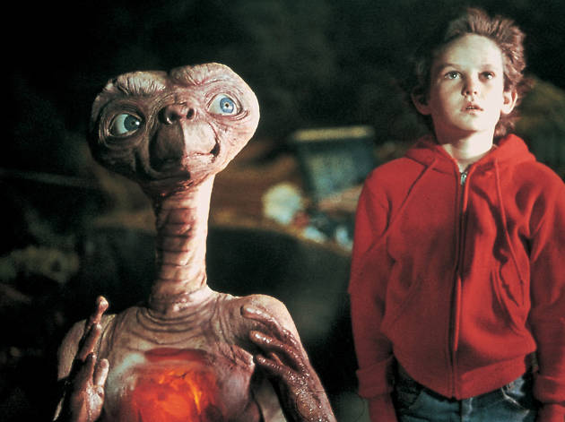 Sci-fi movie: ET the Extra-Terrestrial