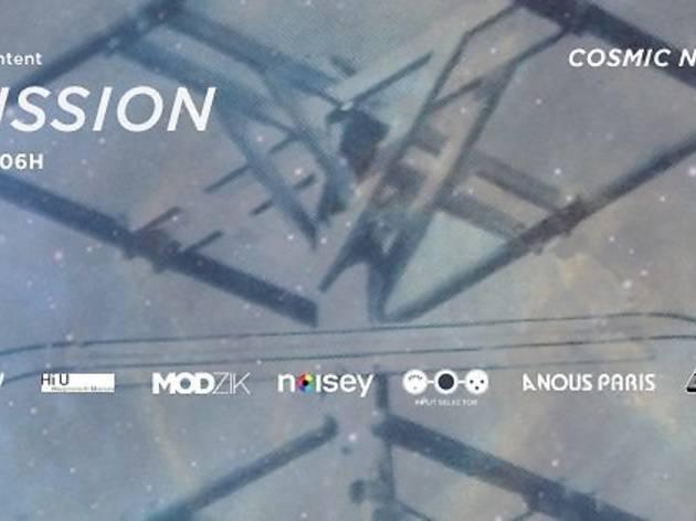 Transmission : Cosmic Neman [Zombie Zombie] + Romain Play + Asio + Moosefly + Edgar Maendel + Kevin Jonson & Seehne