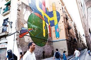 Tribut a Miró, de Sixe Paredes