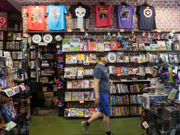 Chicago comic book stores