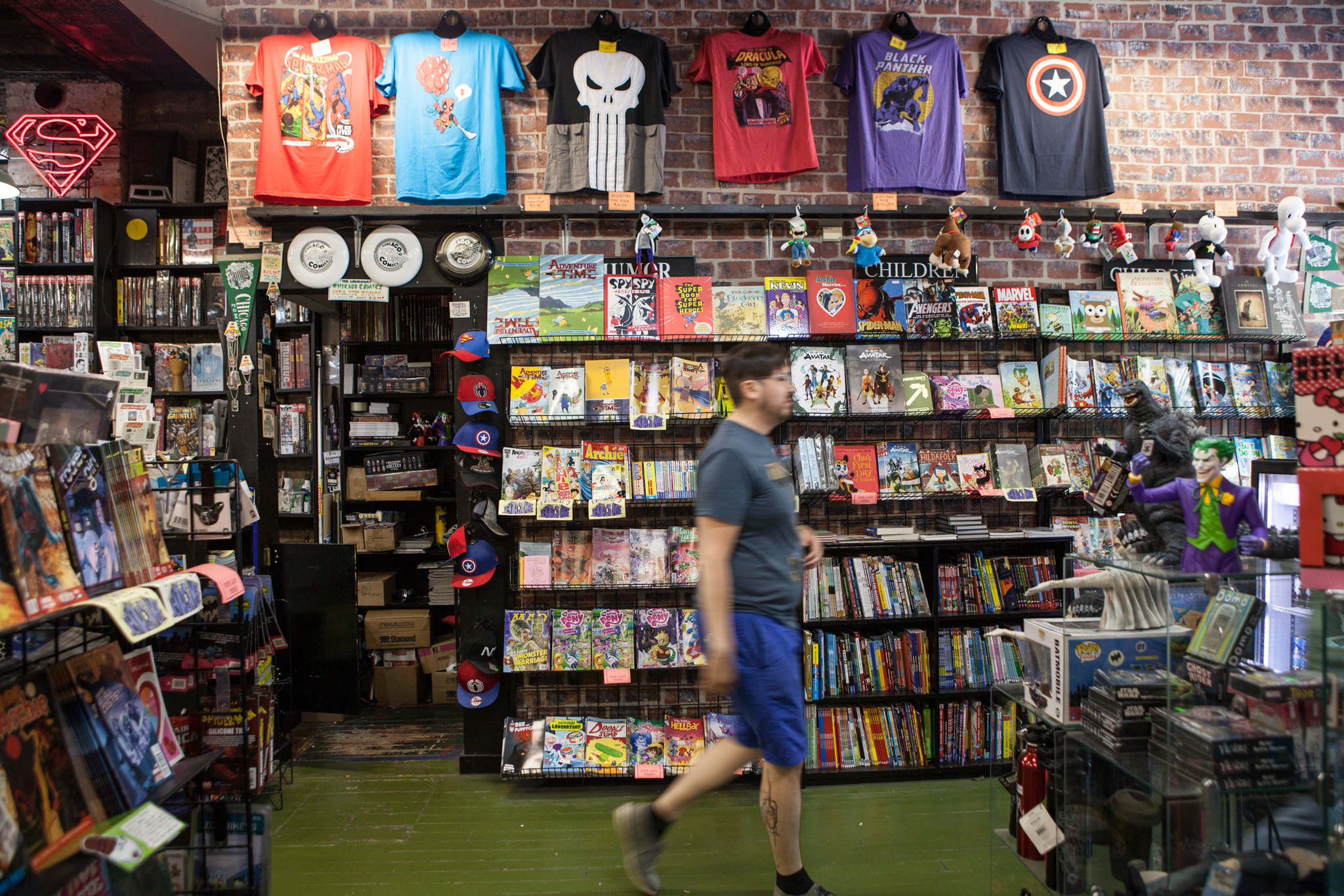 Man Cave Store Near Me : Chicago s best geek stuff including arcades and comic shops
