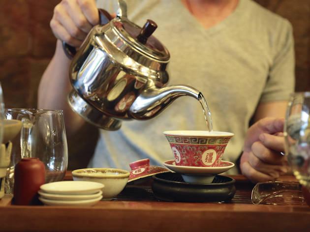 Gung Fu-style tea