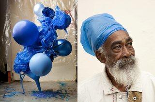Lorenzo Vitturi ('Plastic Blue #1 & 2 from the series Dalston Anatomy', 2013)