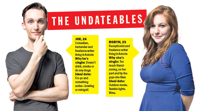 Hookup sites used on the undateables